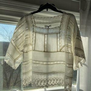 Zara❤️NWT romantic beautiful blouse size M holiday